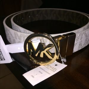 Michael Kors Reversible Womens Belt Size L